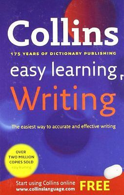 Easy Learning Writing (Collins Easy Learning English) By Collins Dictionaries