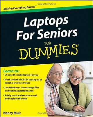 Laptops for Seniors For Dummies (For Dummies (Computers)) By Nancy C. Muir