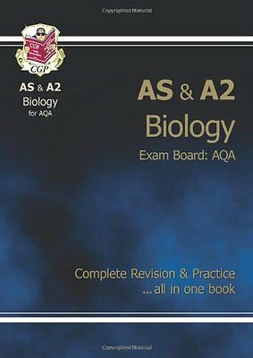 AS/A2 Level Biology AQA Complete Revision & Practice By CGP Books