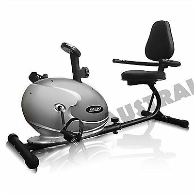 NEW Magnetic Recumbent Exercise Bike Home FITNESS Heavy Duty Seated Recovery GYM
