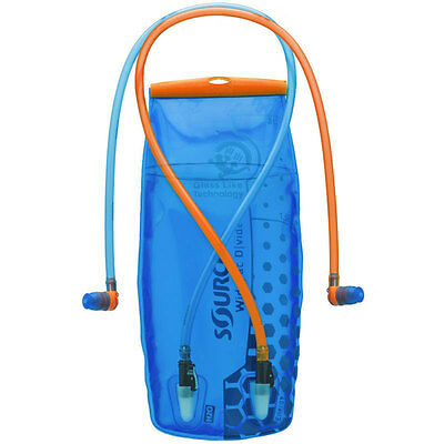 Source Hydration Widepac Divide Bladders - 2L, 3L - Water Reservoir Drink Bag