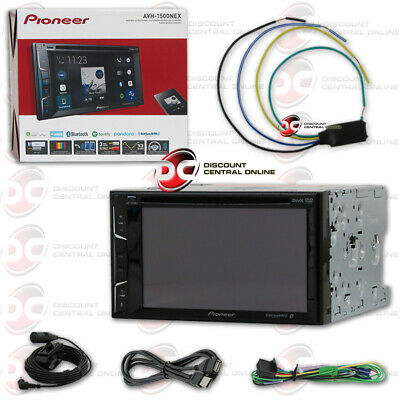"Pioneer Avh-X490Bs 7"" Touchscreen Car Cd Dvd Bluetooth Stereo Free Video Bypass"