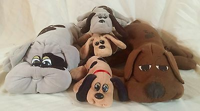 Lot Of Vintage Pound Puppies Puppy Signed
