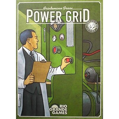 Power Grid Board Game Brand New