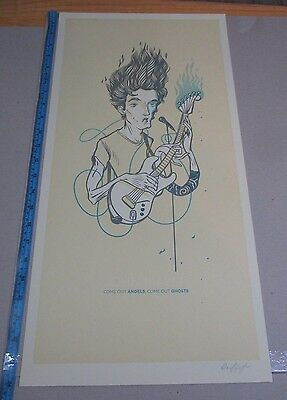 John Mayer Poster Come out Angels Come out Ghosts Grateful Dead and Company