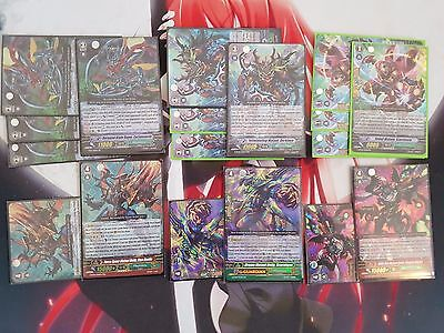 Cardfight Vanguard Megacolony Set / Cyclomatooth / Darkface / Starshield /