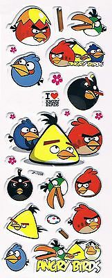 3D puffy Stickers ANGRY BIRDS # JF-1038