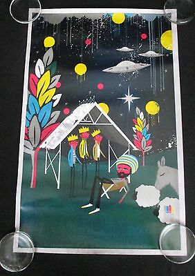 Andrew Bannecker KEXP Poster Kings of Leon Super Furry Animals Big Youth RARE