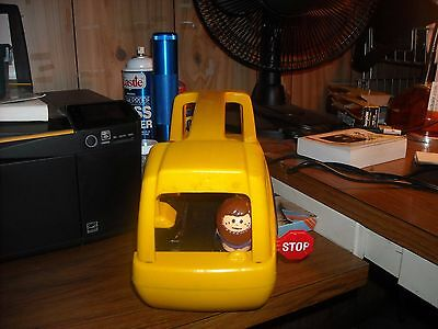 Little Tikes Little Peoples School Bus  Made In The Usa