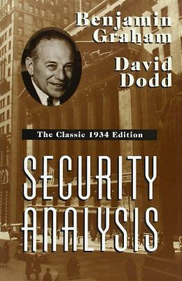 Security Analysis: The Classic 1934 Edition Copertina rigida