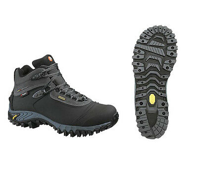 New Merrell  Thermo 6 Shell Waterproof Winter Boots,black/gray,size Men's Us 9,5