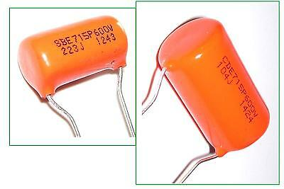 Condensateurs ORANGE DROP 715P NEUF 600V - FREE WORLDWIDE SHIPPING - Capacitors