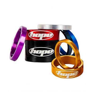 Hope Space Doctor Mountain Bike MTB Cycling Coloured Headset Spacers All Colours