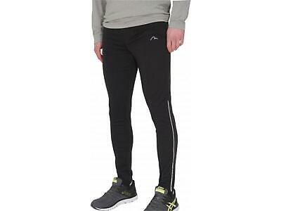 More Mile Mens Running Tights Tracksters Sports Fitness Exercise Training Pants