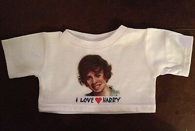 I LOVE HARRY STYLES T SHIRT FOR A BUILD A BEAR or DOLL 1D One Direction