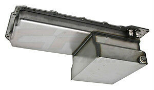Steel Chevy Gm Ls Engines Oil Pan 6.6L -10An Fitting - Raw