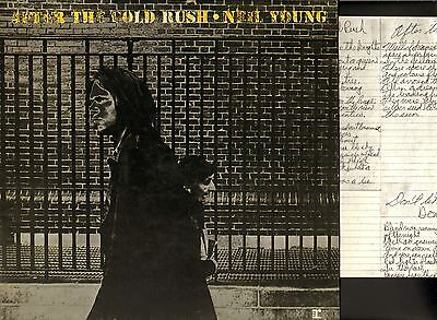 NEIL YOUNG after the gold rush (with poster) LP EX/VG+ K44088 A2/B3 uk 1974