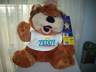 ZEDDY TEDDY BEAR ZELLERS - ALL TAGS - WOW Displayed Only
