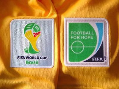 2014 Fifa World Cup Brazil Patches Patch Badge Australia Socceroos Shirt Jersey