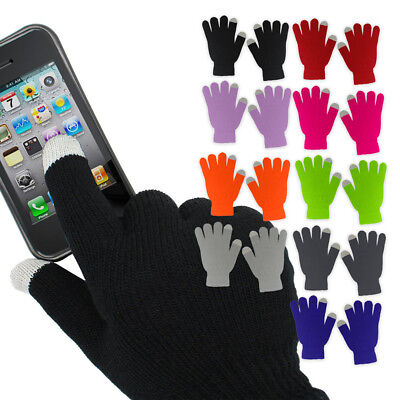 2 Pairs: Refael Collection Touchscreen Texting Gloves