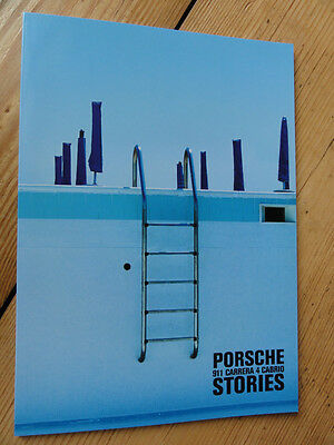Porsche 911 Carrera 4 Cabrio Design Schreibblock Notizblock Writing Pad Notepad