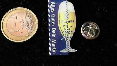 Bier Beer Pin Badge Martins Bier Alles Gute Dein Martin