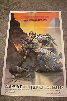 The Gauntlet (Original 1977 Us One Sheet Poster)