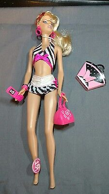 Barbie Blonde Bathing Suit Then and Now 1959-2009 50th Ann P6508 Doll NO BOX