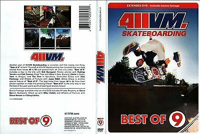 411VM Best of 9 (DVD) - skateboarding DVD
