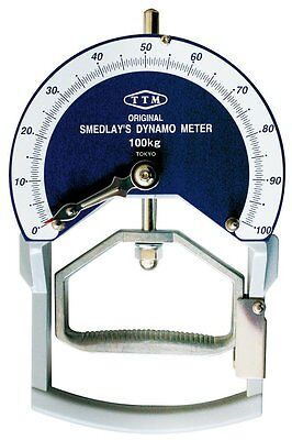 HATAS 103-S sporting goods industry Smedley type dynamometer 100kg F/S JAPAN