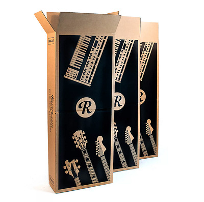 High Quality! Value 3-Pack Guitar - Bass - Keyboard Shipping Box