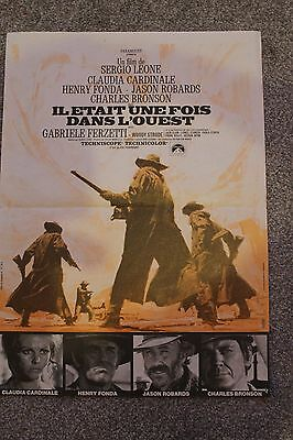Once Upon A Time In The West (1969) Original French 'petite' Movie Poster