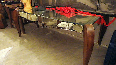 table basse art deco 40 venise miroir