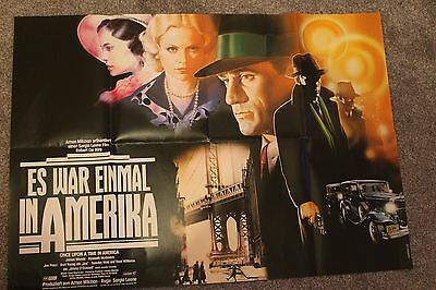 Once Upon A Time In America (Original German 'a1' Movie Poster)