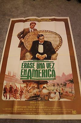Once Upon A Time In America (Original Argentinian Movie Poster)