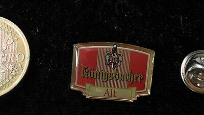 Bier Beer Pin Badge Königsbacher Alt Logo Emblem