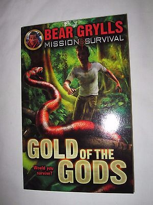 Gold of the Gods by Bear Grylls    Paperback  NEW