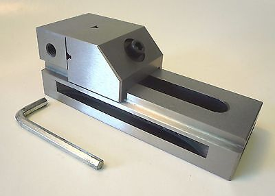 "2"" x 3"" Precision Hardened Milling Grinding Machining Vise + Mounting Slots New"