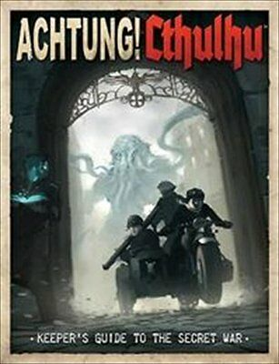 Achtung! Cthulhu Keeper's Guide to the Secret War Copertina rigida