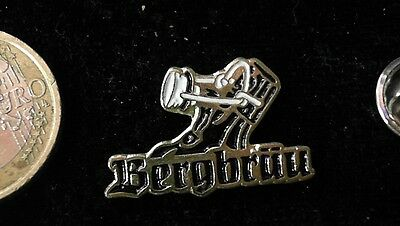 Bier Beer Pin Badge Bergbräu Logo Emblem Flasche Bottle