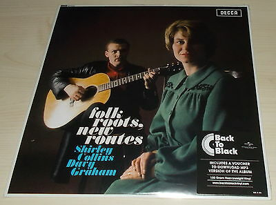 Shirley Collins/davey Graham-Folk Roots, New Routes-2014 Vinyl Lp-New & Sealed