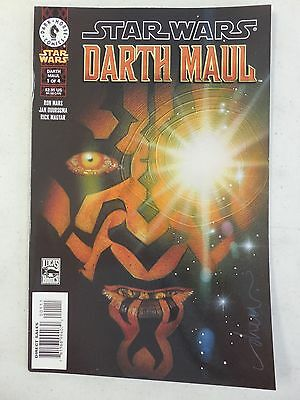 1st EVER Star Wars DARTH MAUL # 1 Comic ~ DARK HORSE 2000 ~ VARIANT Art Cover