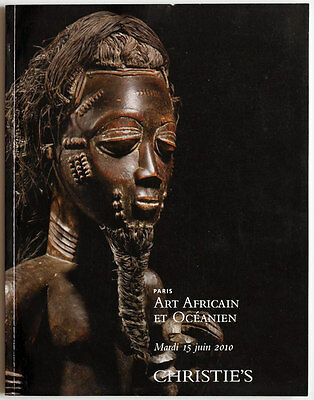 CHRISTIE'S 2010 African and Oceanian art auction catalogue