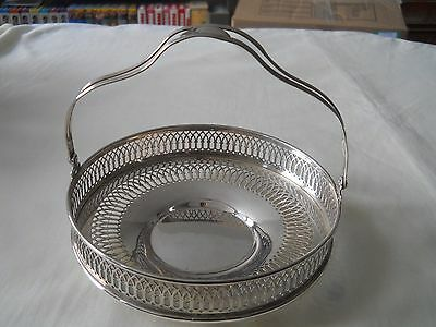 Sterling Silver Nuts Candy Mints Basket