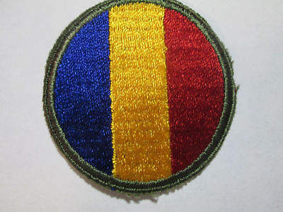 Wwii Command And Replacment Ssi Color Shoulder Patch C/e Wwii Us Army Patches