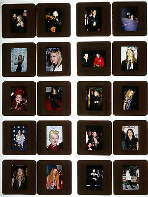 20 Random Color Photo Slide Pictures of Madonna - Mostly From The 1990s II