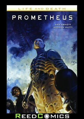 PROMETHEUS LIFE AND DEATH GRAPHIC NOVEL Paperback Collects 4 Part Series