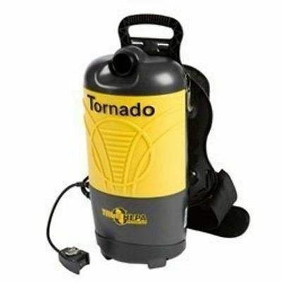 Tornado Pac-Vac PV10 93014 Backpack Vacuum- Authorized Dealer +  FREE 1 Pack bag