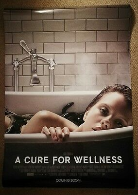 """A Cure For Wellness Original Int. One Sheet 27"""" x 39"""" Cinema Movie Film Poster"""