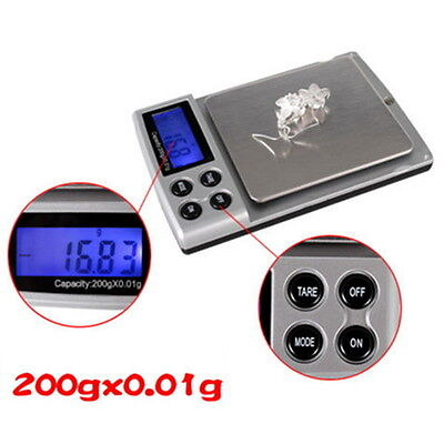 Digital Pocket Weighing Balance 300g/0.01g 2000g/0.1g  500g*0.01g Lot CQ